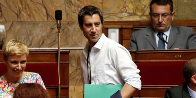 François Ruffin à l'Assemblée nationale en juillet 2017.