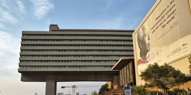The University of South Africa (Unisa), the largest university on the African continent.