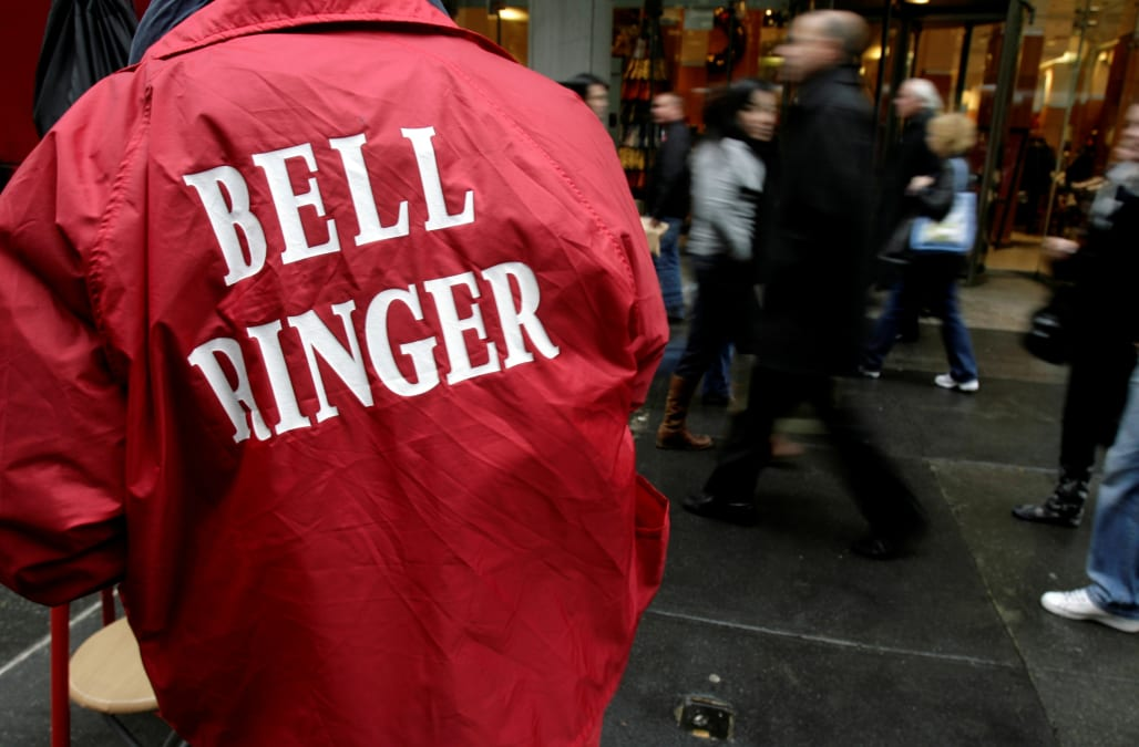 Salvation Army apologizes after Hells Angels bell ringers