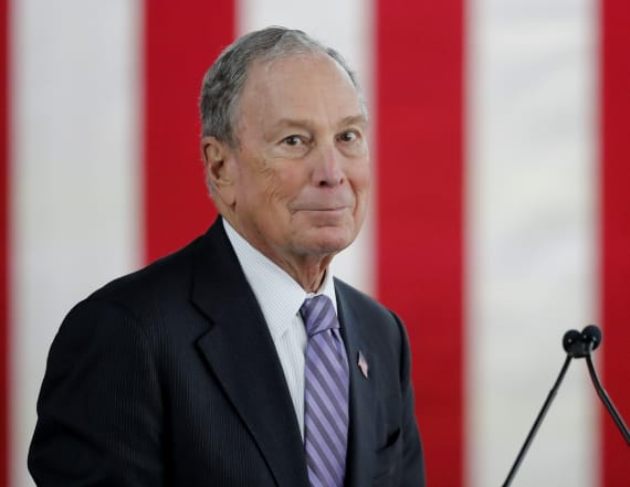 Bloomberg makes debate stage for 1st time