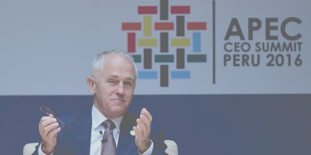 Prime Minister Malcolm Turnbull is in Peru for the APEC summit.