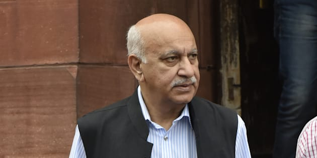 MJ Akbar in a file photo.