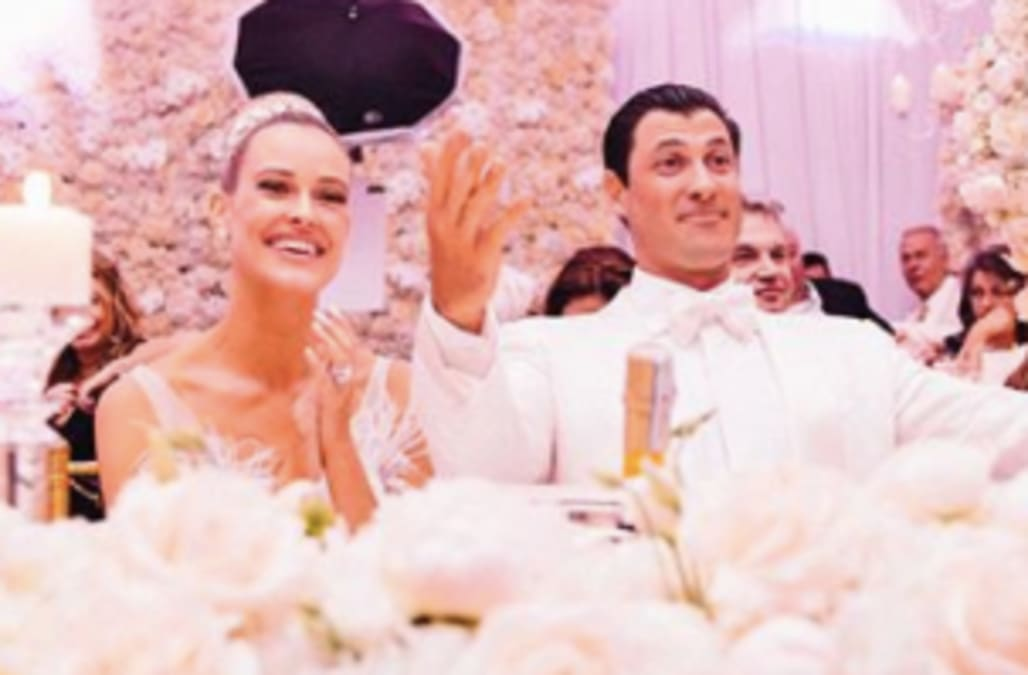 EXCLUSIVE: Sharna Burgess and Maks & Peta's wedding ...