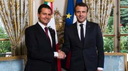 Peña Nieto y Macron van por fortalecimiento