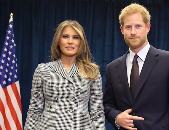 Prince Harry's cryptic hand signal goes viral