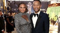 John Legend And Chrissy Teigen Bring The Sparkle To 2018 Emmys Red