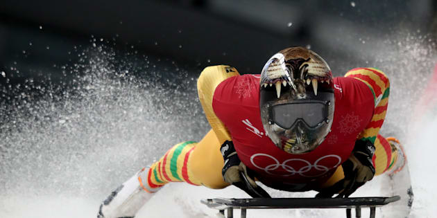 Akwasi Frimpong is only the second-ever Ghanaian to compete at the Winter Olympics.