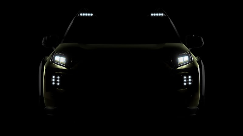 Toyota Teases FT-AC Off-Road Concept for LA Auto Show