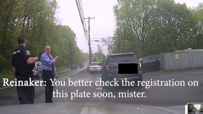Video shows judge bully officer during traffic stop