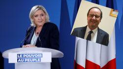 Le Pen exige l'annulation d'une visite de Hollande dans un lycée