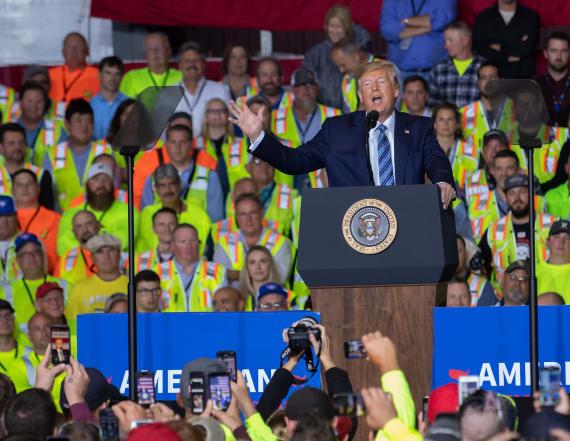 Trump intensifies fracking assault on Biden