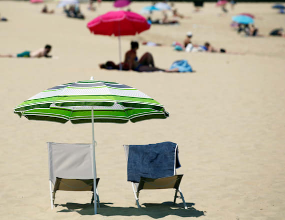 Woman impaled by beach umbrella at Jersey Shore