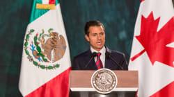 México y Canadá mantendrán TLC, aun sin EU: Peña