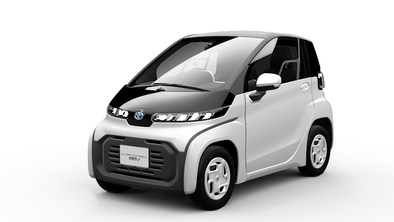 Toyota Ultra-Compact BEV is a tiny electric car for tiny Japanese streets