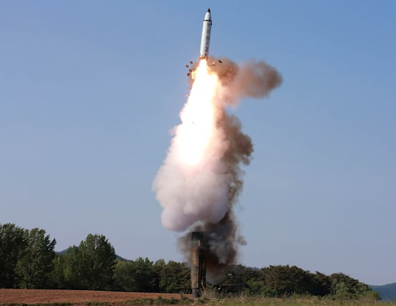 North Korea fires projectile off its East coast