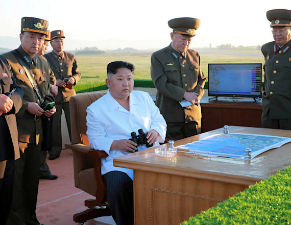 N. Korea tests new anti-aircraft weapons