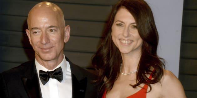 Jeff Bezos et sa femme MacKenzie Bezos sont sur le point de se divorcer.