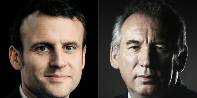 """Emmanuel Macron accepte l'offre d'alliance de François Bayrou, un """"tournant dans l'élection présidentielle"""""""