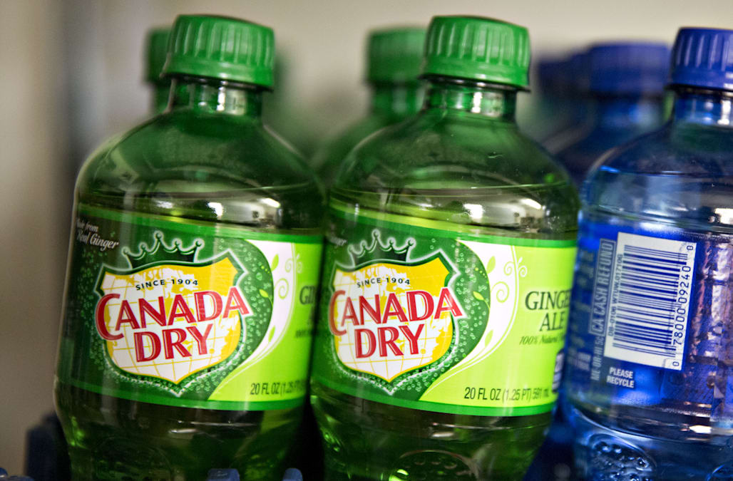 Woman sues Canada Dry for false advertising after lab ...