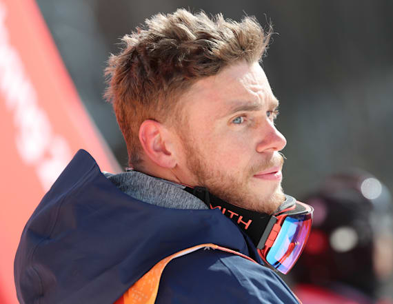 Gus Kenworthy suffered a massive bruise on his hip