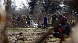 Confirman que expertos de Canadá y EU investigarán caída del helicóptero en