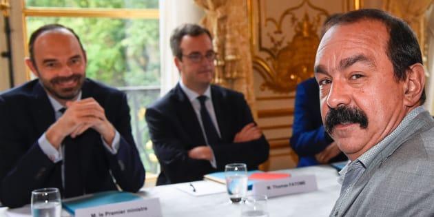 SNCF: Philippe Martinez défie Edouard Philippe de l'affronter dans un duel télévisé