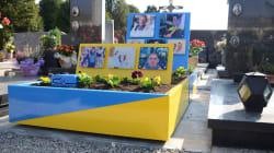 La tomba di un omosessuale è troppo vistosa, scoppia la polemica in Brianza: