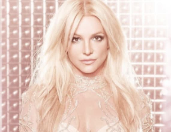 Britney Spears dons sheer mini dress and leotard