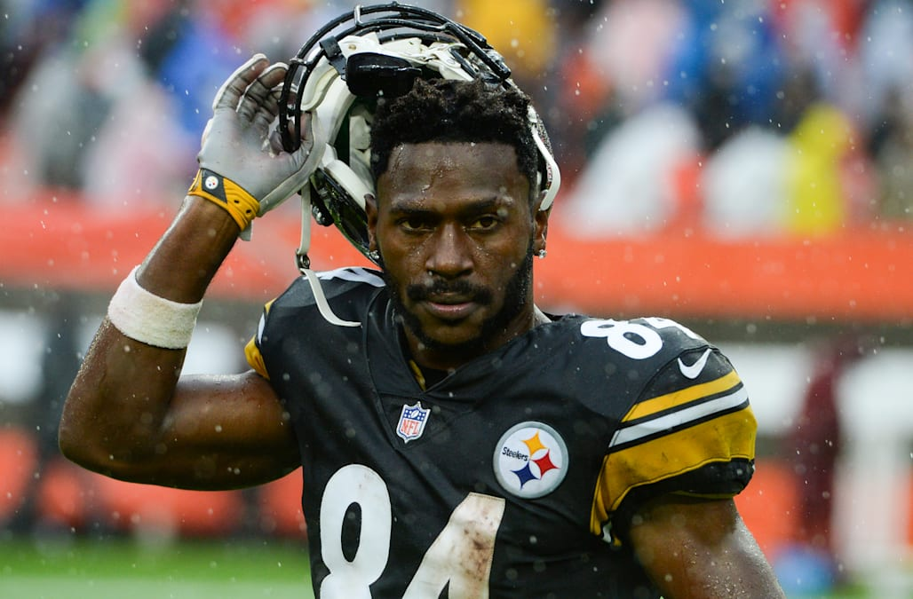 36e8a634b00 Pittsburgh Steelers wide receiver Antonio Brown said Thursday that his  frustration on the sideline during Sunday's game and his tweet toward a  critic on ...