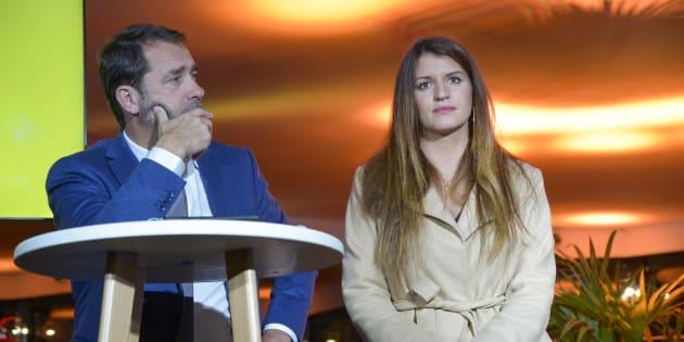Après le remaniement et le départ de Christophe Castaner, Marlène Schiappa semble favorite pour prendre la direction de La République en marche.