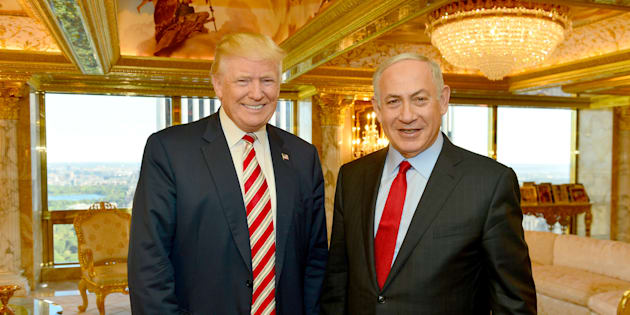 Benjamin Netanyahu et Donald Trump (Illustration)