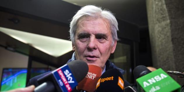 Il presidente nazionale dell'Associazione Italiana Arbitri (Aia) Marcello Nicchi