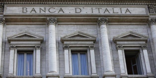 Veduta esterna della sede della Banca d'Italia, Palazzo Koch, a Roma in una foto d'archivio. ANSA/ALESSANDRO DI MEO