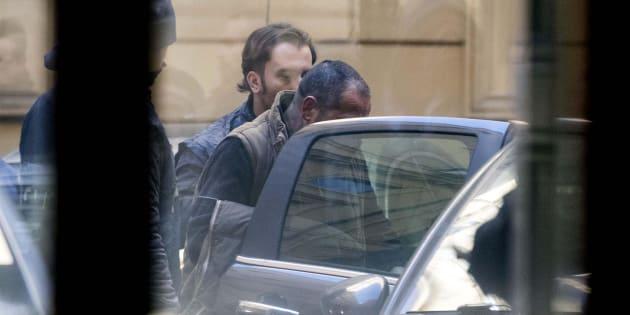 Carmine Spada, detto 'Romoletto', considerato il capo del clan, arrestato nella maxi operazione di Ostia, 25 gennaio 2018