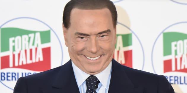 Silvio Berlusconi durante la Convention organizzata da Forza Italia Idee Italia. La voce del Paese. Milano, 26 Novembre 2017. ANSA/FLAVIO LO SCALZO