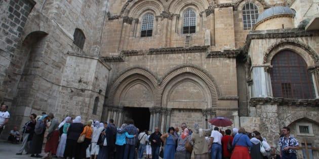 Chiese cristiane chiudono Santo Sepolcro a Gerusalemme