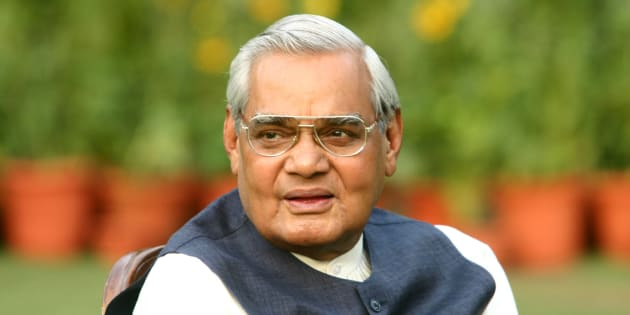 Atal Bihari Vajpayee, former prime minister of India in a file photo.