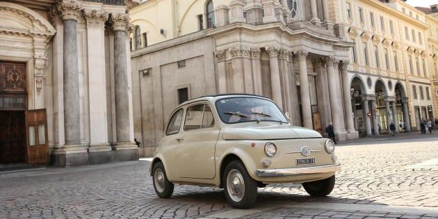 Fiat 500 esposta per la prima volta al Moma di New York