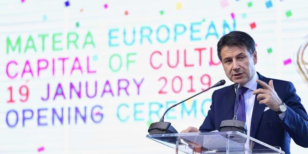 Conte scivola sui Sassi: accoglienza tiepida tra i notabili della città europea della cultura 2019
