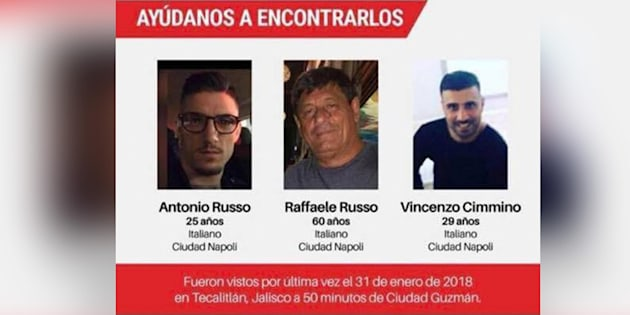 "Italiani ""venduti"" in Messico a una banda criminal"