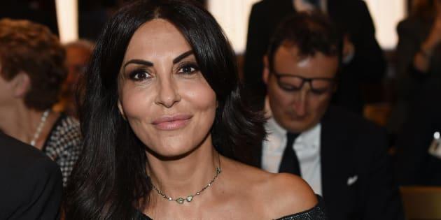 Sabrina Ferilli, durante la cerimonia di premiazione dei ''Premi Moige'' alla Camera dei Deputati, Roma, 22 giugno 2017. ANSA/GIORGIO ONORATI