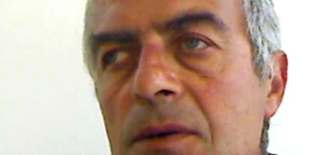 Giovanni Calenzo, 54 anni, l'uomo che ha ucciso con un coltello il nuovo compagno di sua moglie a Cellole, nel Casertano, 10 giugno 2017. ANSA/UFFICIO STAMPA CARABINIERI