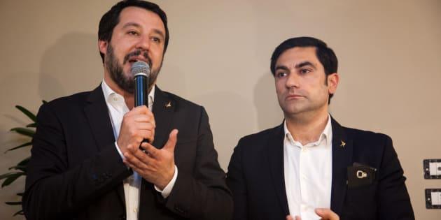 Più lavoro, meno clandestini. Bagno di folla di Matteo Salvini nella sua Calabria