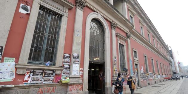 Un'immagine dell'universita Statale di Milano, 31 gennaio 2013.      ANSA/DANIEL DAL ZENNARO