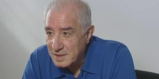 Un fermo immagine tratto dalla trasmissione di La7, 'In Onda', mostra l'intervista a Marcello Dell'Utri, 5 luglio 2017.