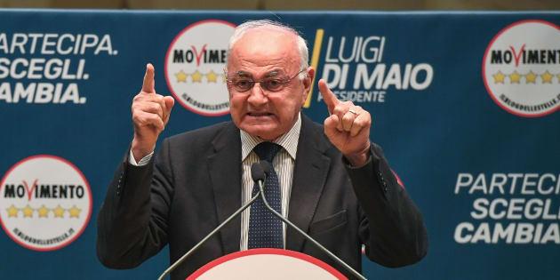 Il senatore M5S Elio Lannutti sul totoministri |   Leggo nomi legati a cricche e