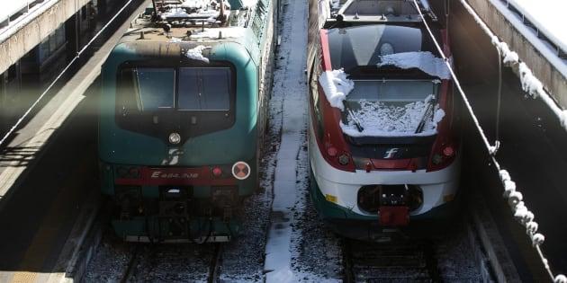 Allerta neve, in Liguria treni regionali ridotti del 50%