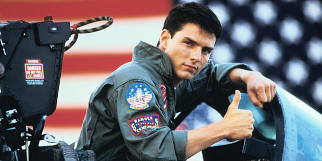 Tom Cruise's character Maverick gives a thumbs up to eucalyptus.