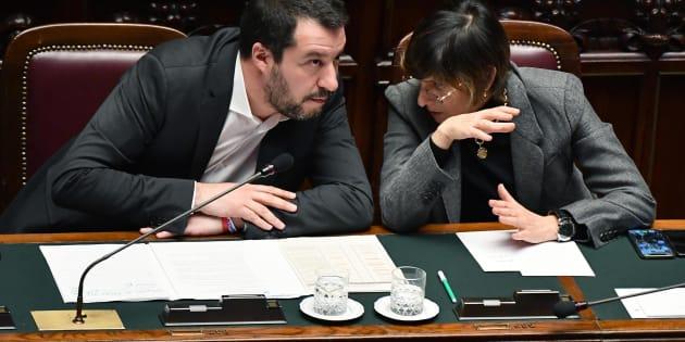 Salvini e Bongiorno