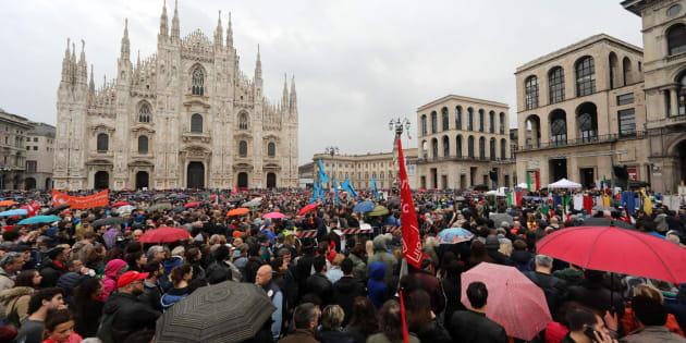 A Milano in 70mila per il 25 Aprile